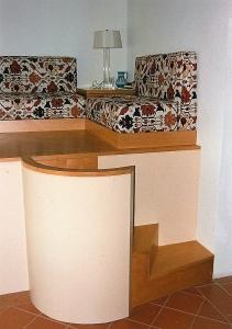 Abitazione a Venezia, scaletta interna per soppalco, Arch. Carlo Capovilla 1