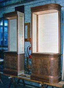 Negozio in Piazza San Marco, vetrine interne, Arch. Carlo Capovilla