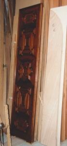 Palazzo a Venezia, porta in noce 1